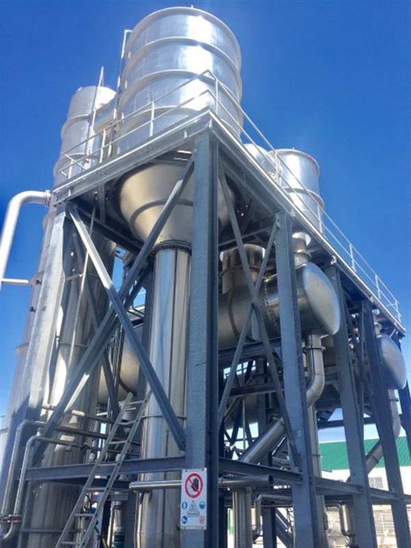 3 evaporador 3 efectos fbr elpo eco energy 1200 tndia