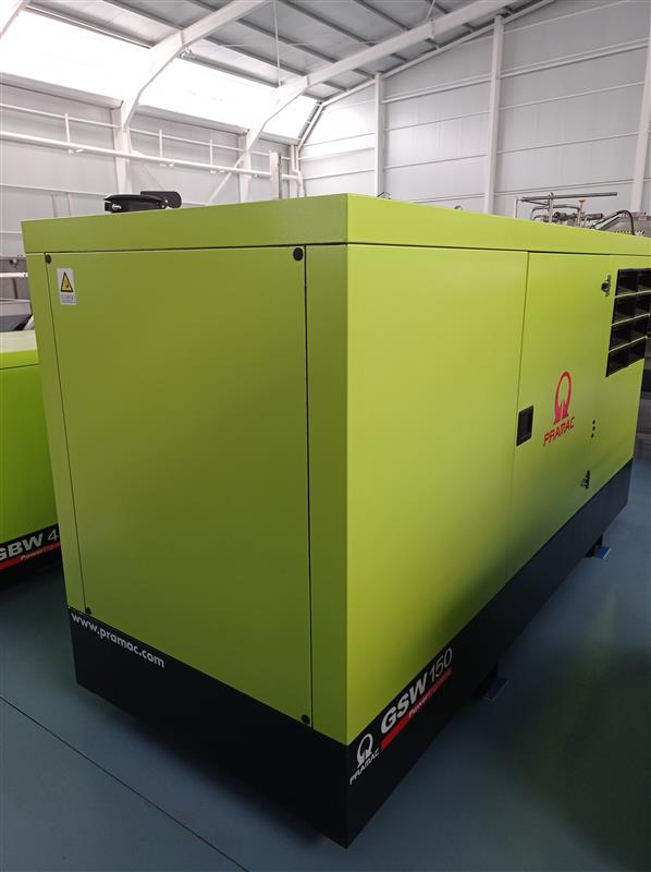 3 generador de corriente pramac 150 kva.