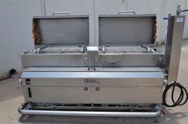 3 lavadora para envases en acero inox tacore