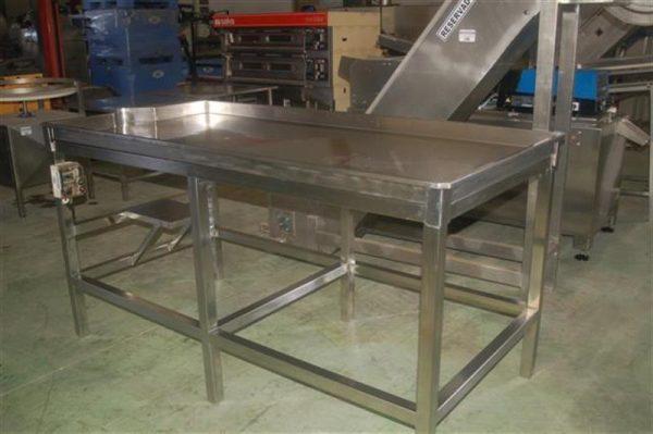 3 mesa en acero