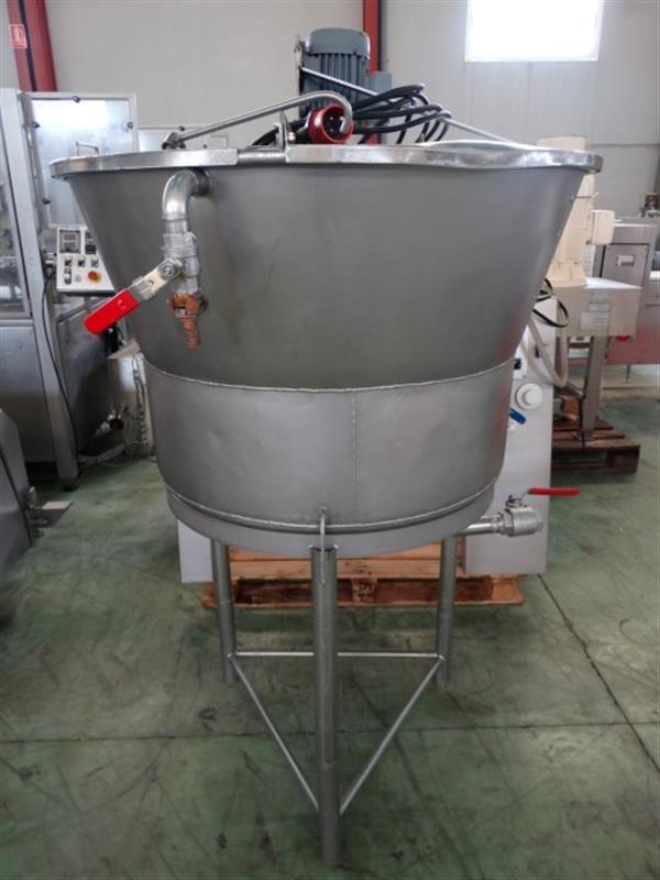 3 mezclador vertical con agitador 250 l