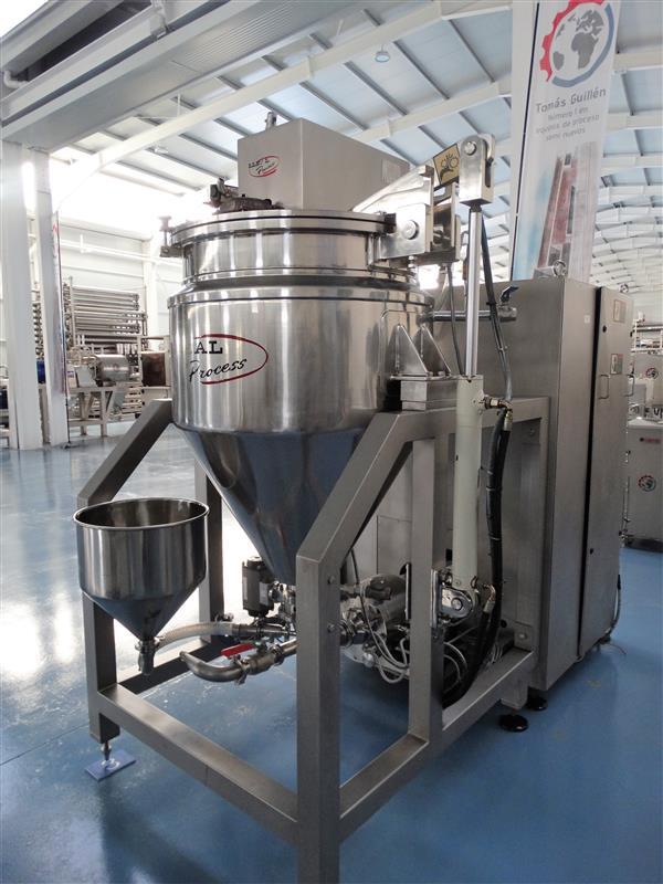 3 mezcladora al vacio lleal process mm 250 400 l