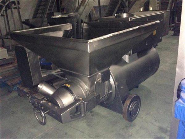 4 cutter bomba picadora en acero inox ks. cv 145.5
