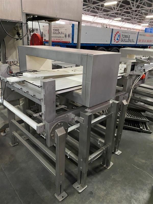 4 detector de metales en acero inox loma iq2