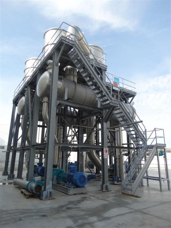 4 evaporador 3 efectos fbr elpo eco energy 1200 tndia