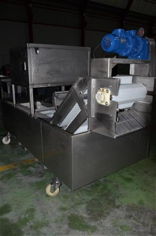 4 glaseador lineal de cangilones de banda modular en acero inox 1