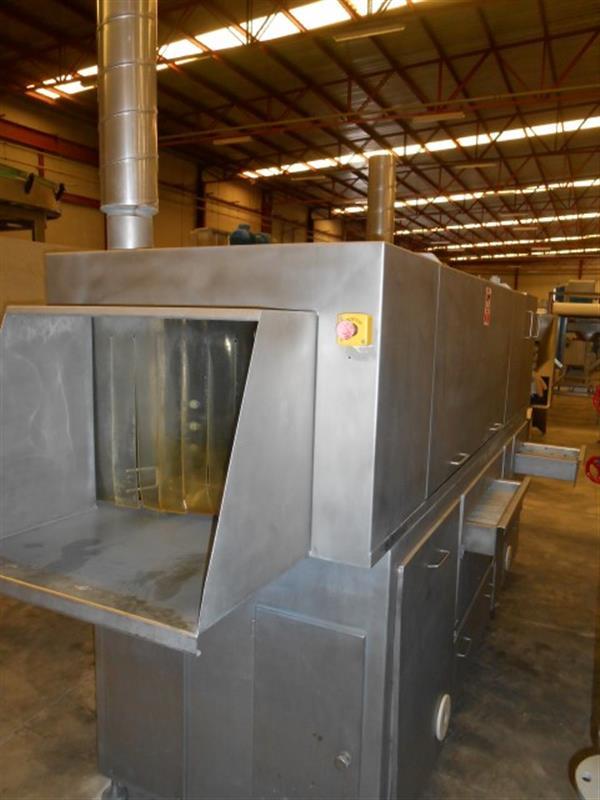 4 lavadora lineal para cajas en acero