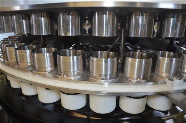 4 llenadora volumetrica de 40 vasos zilli bellini