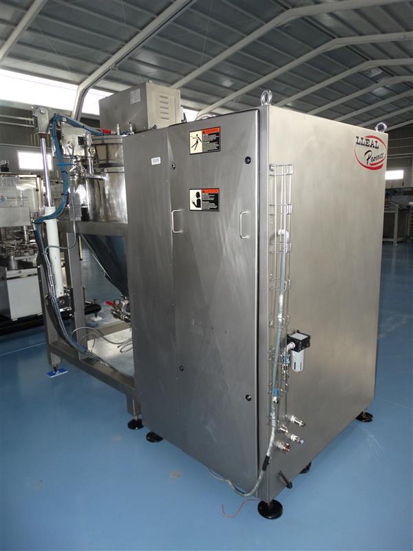 4 mezcladora al vacio lleal process mm 250 400 l