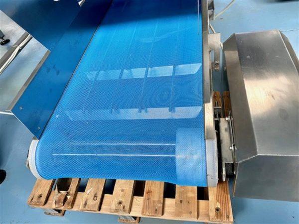 5 cinta transportadora de malla perforada turatti inox l 4 m a 60 cm
