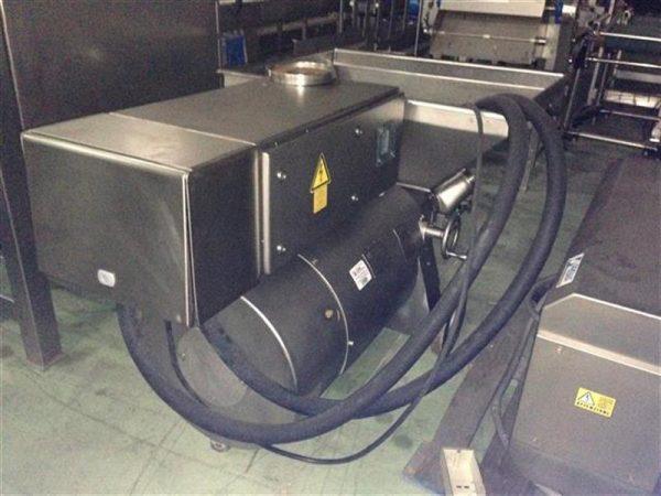 5 cutter bomba picadora en acero inox ks. cv 145.5