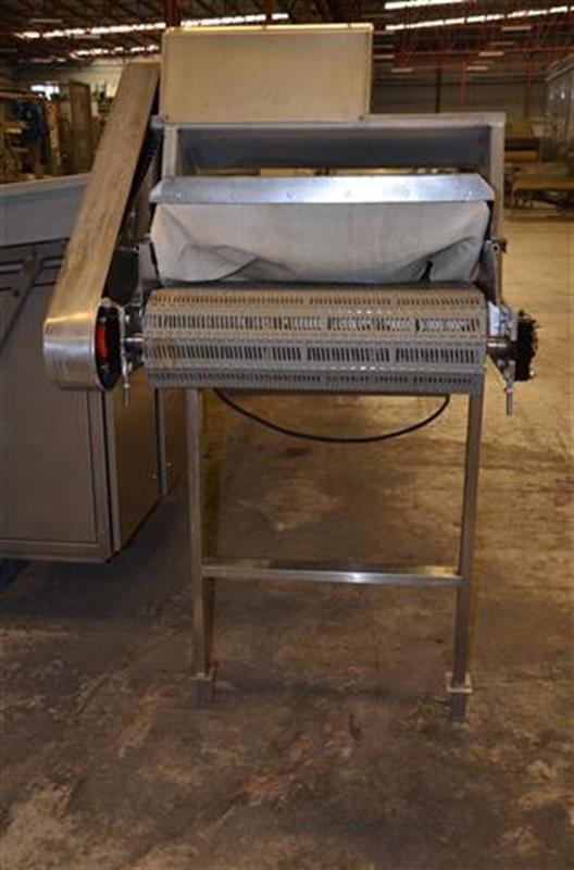 5 escaldador lineal por vapor directo inox. l 6.23m