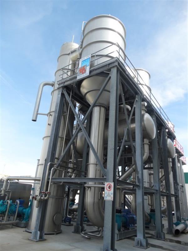 5 evaporador 3 efectos fbr elpo eco energy 1200 tndia