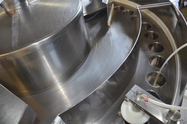 5 llenadora volumetrica de 40 vasos zilli bellini