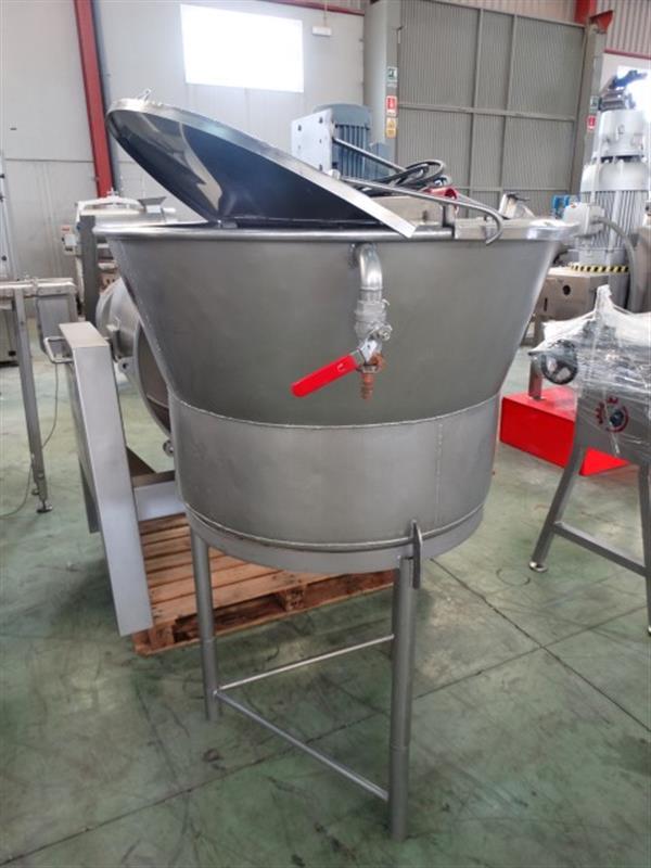 5 mezclador vertical con agitador 250 l