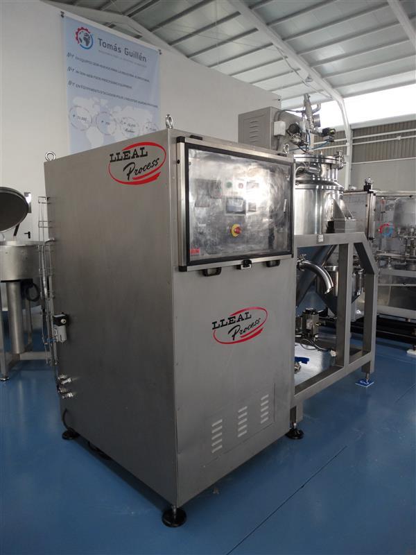 5 mezcladora al vacio lleal process mm 250 400 l