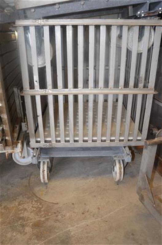 6 autoclave automatico horizontal fishbam en acero inox. de 6 cestas