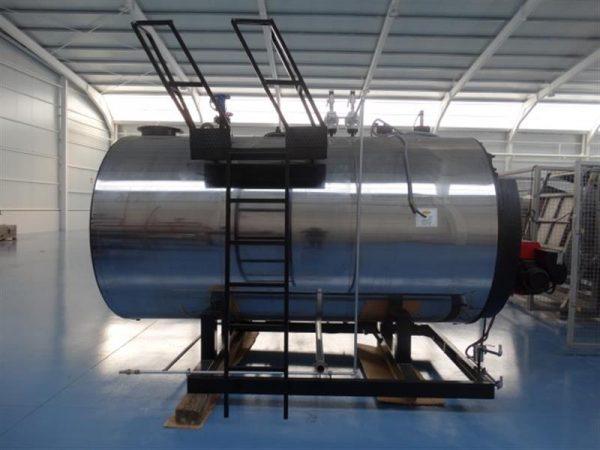 6 caldera de vapor 1.500 kg vaporh mingazzini con quemador diesel