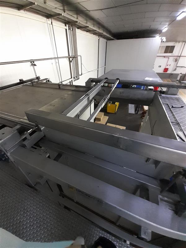 6 despaletizador automatico de envase vacio bronzoni inox. l 5 m