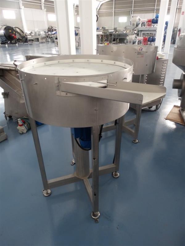 6 disco de acumulacion apm en acero inox. diametro 75 cm