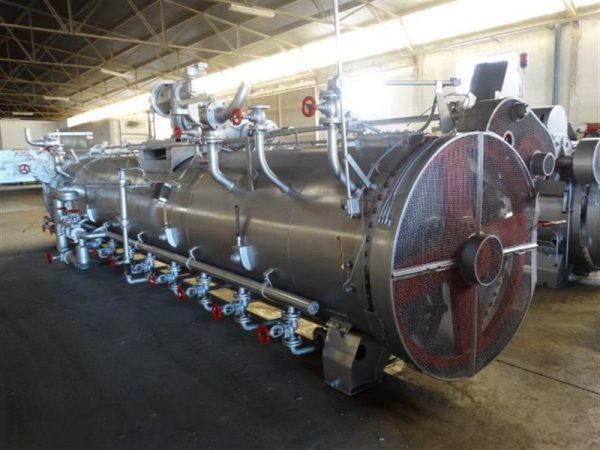 7 autoclave automatico de botes horizontal fmc formato 1 kg