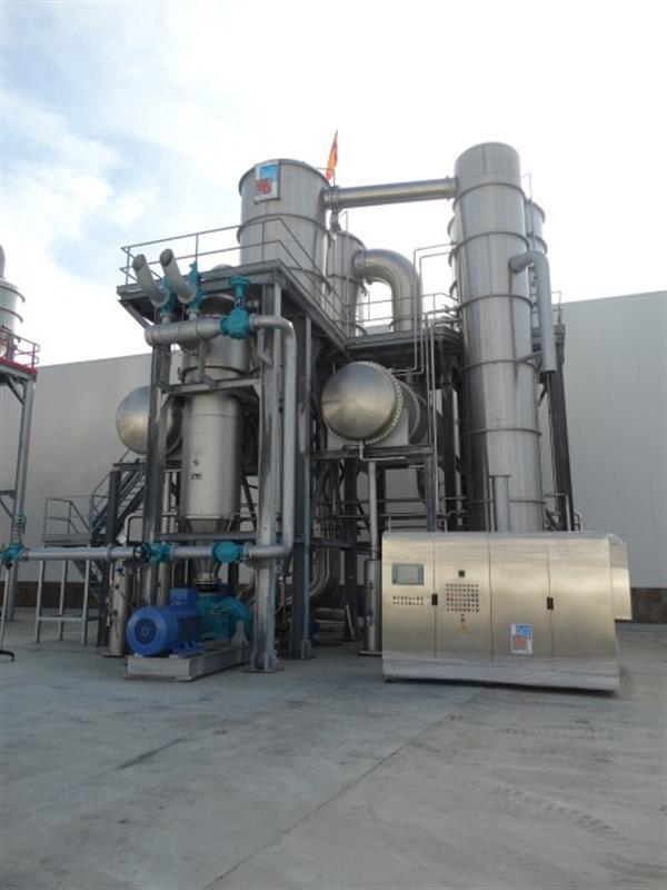 7 evaporador 3 efectos fbr elpo eco energy 1200 tndia