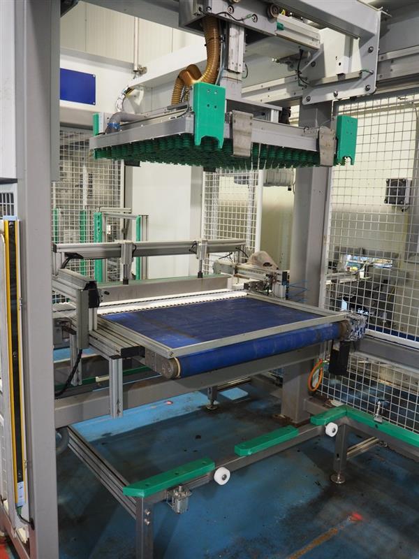 8 enjaulador automatico de bandejas wals systems spider