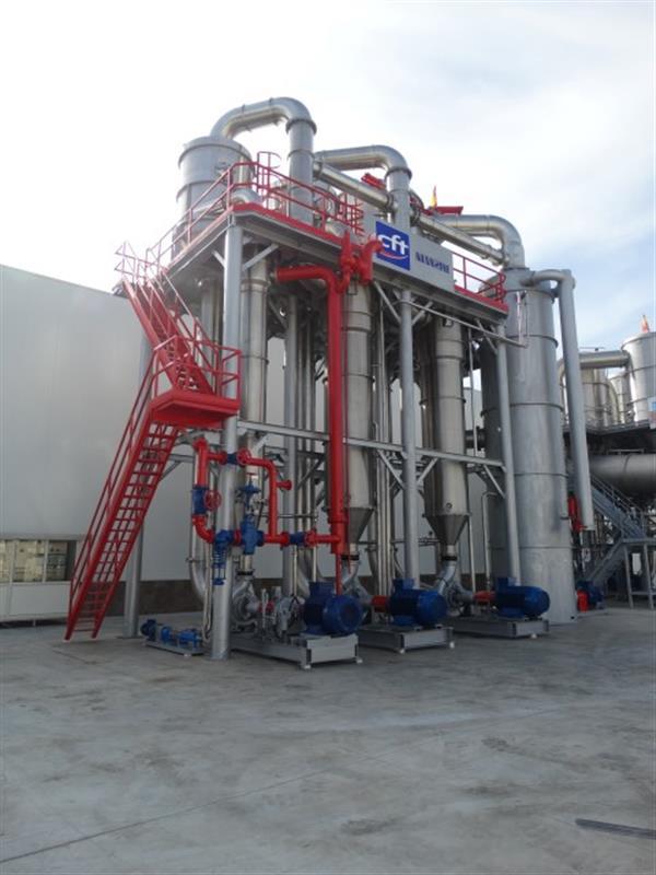 8 evaporador manzini mv1000