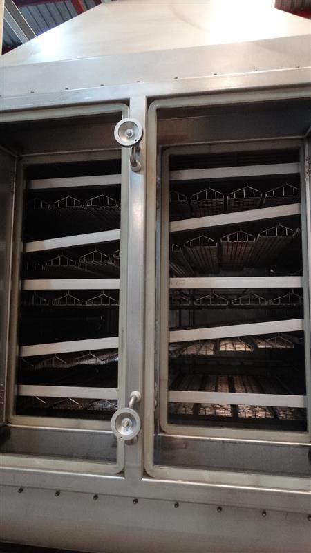 9 cocedor lineal de sardina maconsa sdr inox.l 9.75 m