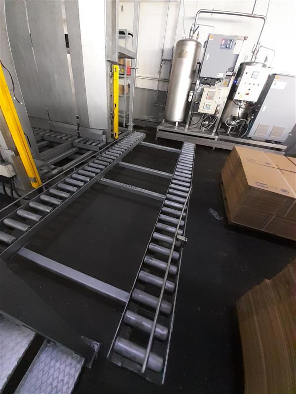 9 despaletizador automatico de envase vacio bronzoni inox. l 5 m