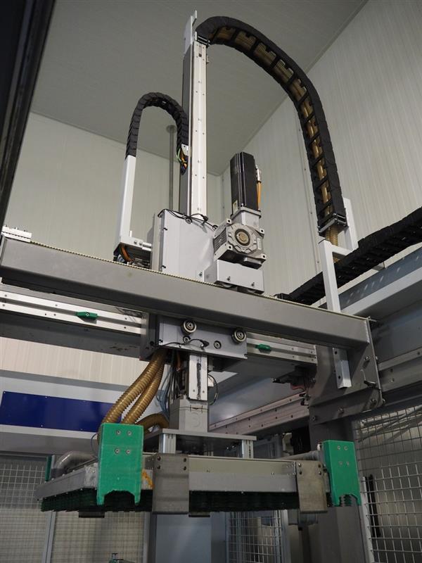 9 enjaulador automatico de bandejas wals systems spider