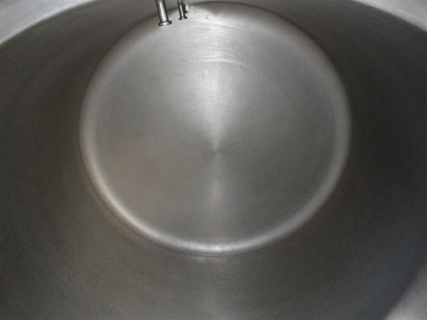 9 marmita perol de doble fondo de 275 l