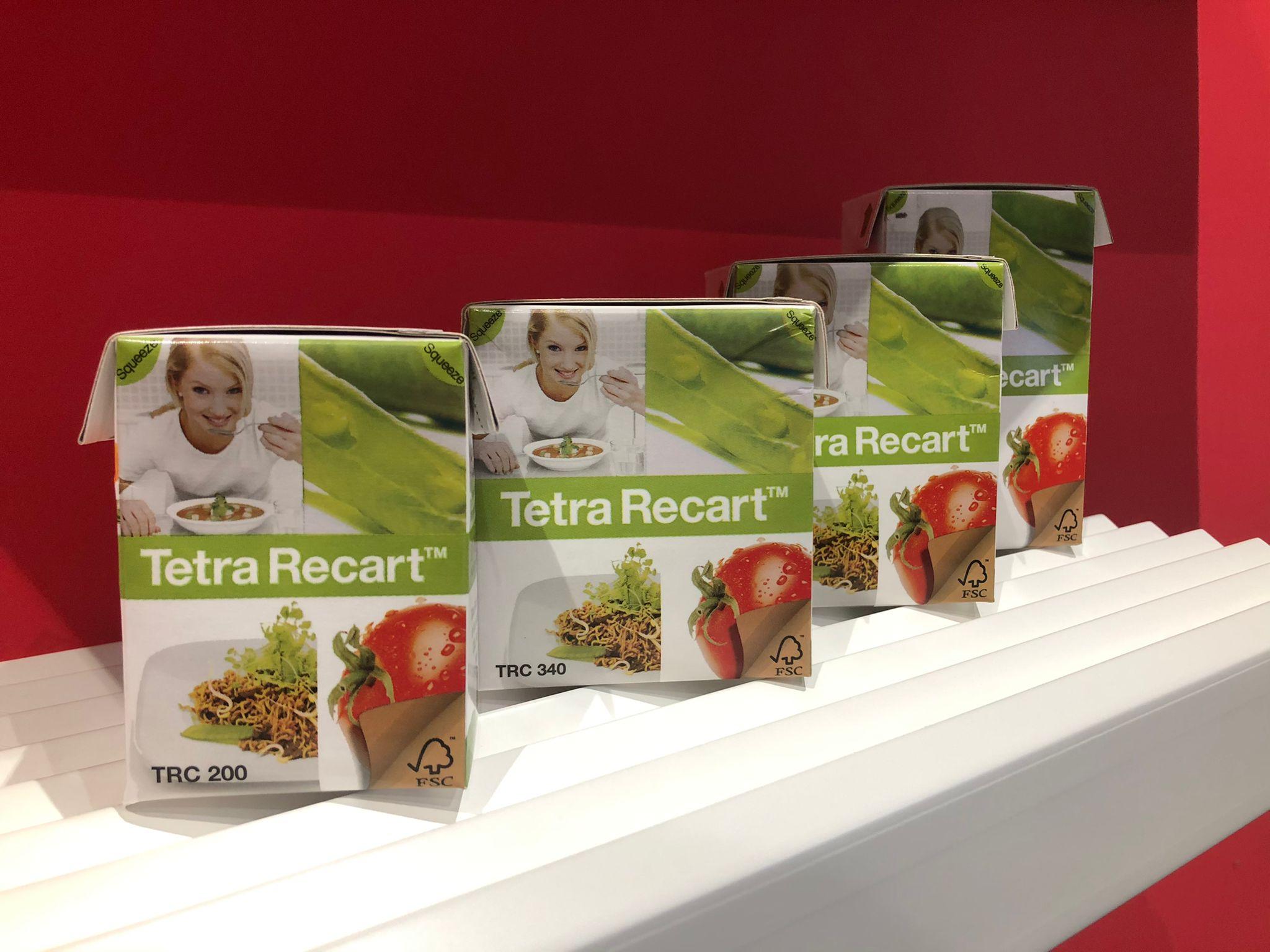 Tetra recart formats