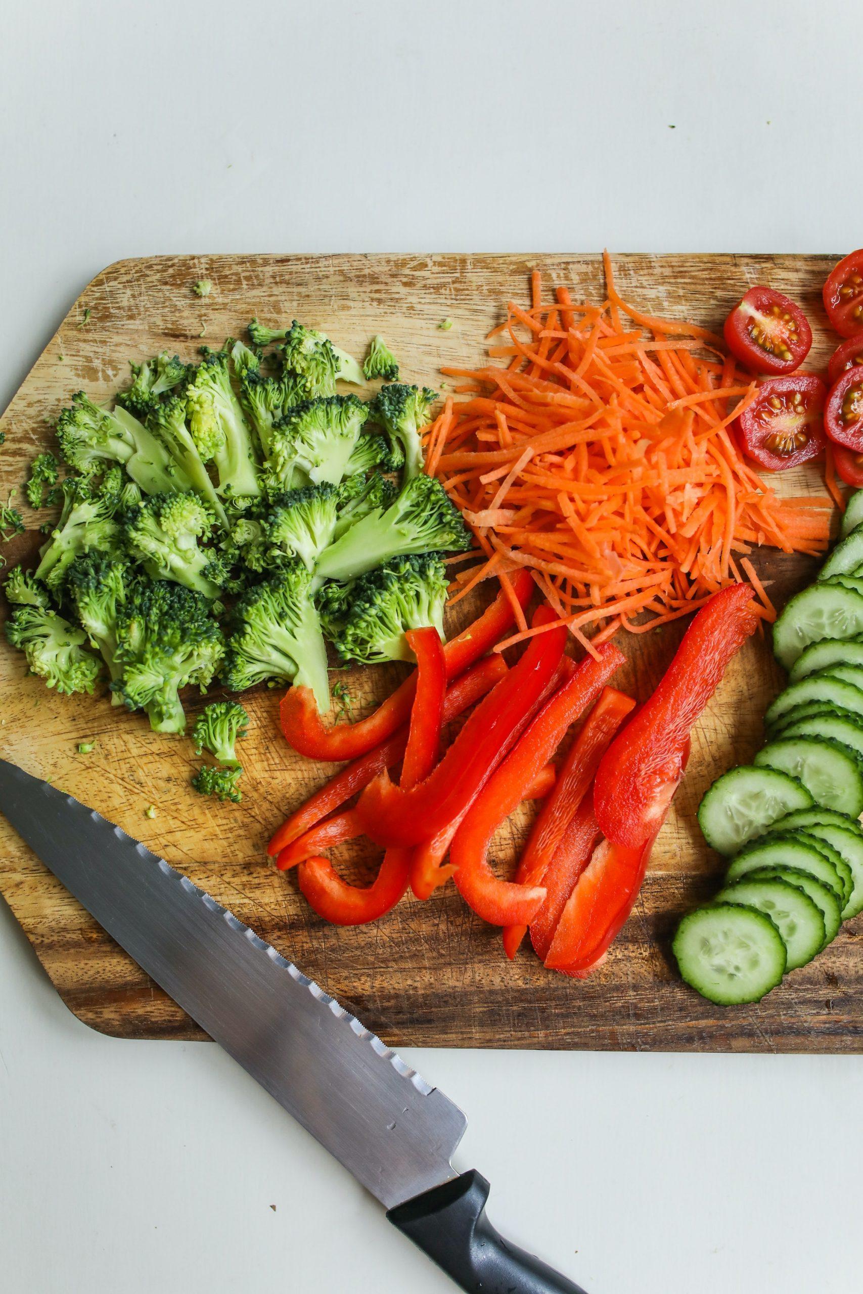 corte verduras